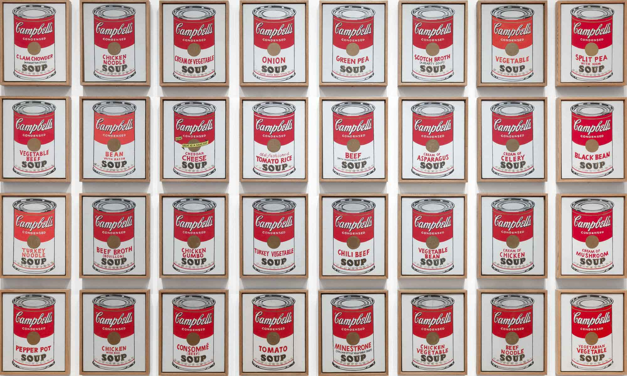 Campbell's Soup Cans Painting Andy Warhol