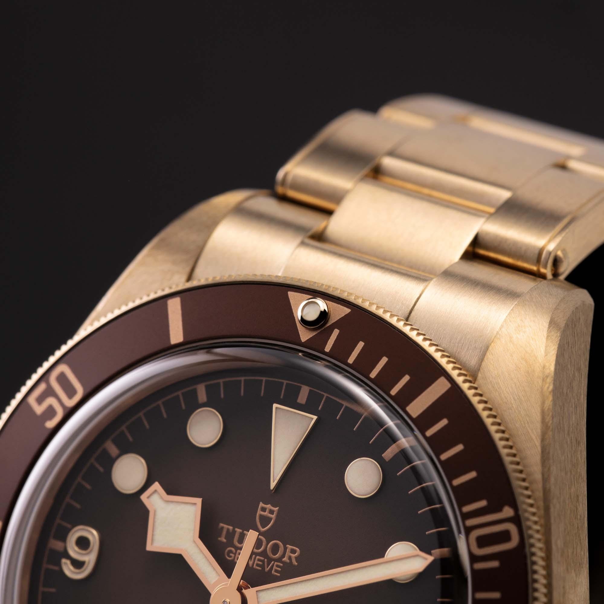 Tudor Black Bay Fifty-Eight Bronze Boutique Edition 12 o'clock triangle