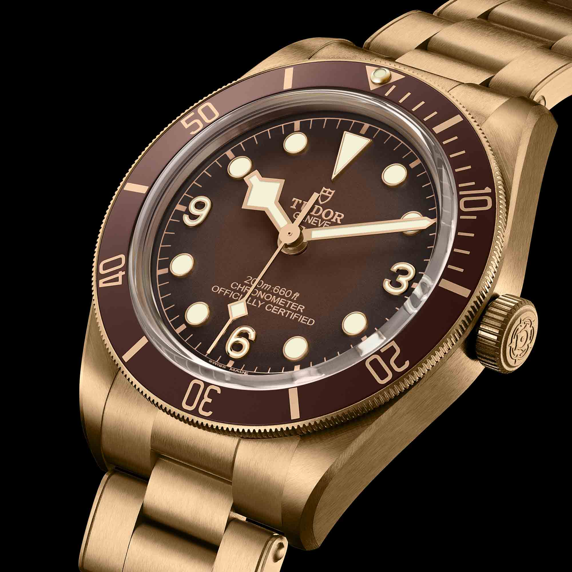 Tudor Black Bay Fifty-Eight Bronze Boutique Edition Chocolate Brown Dial