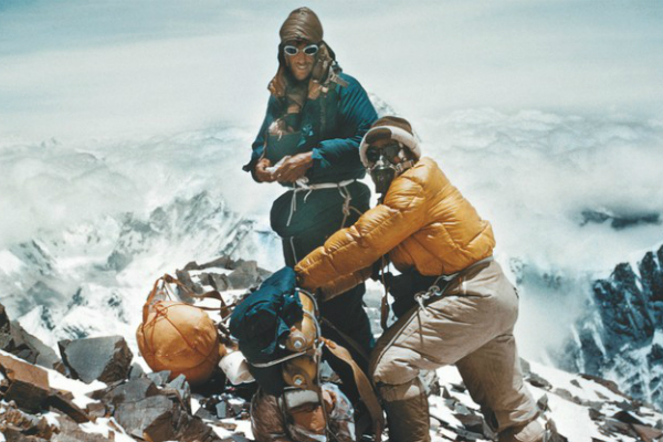 Rolex_Everest Hillary Tensing ascent in 1953