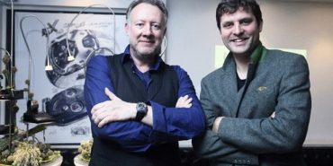 URWERK Co-Founders: Mr Felix Baumgartner, Master Watchmaker (right) and Mr Martin Frei, Chief Designer (left)