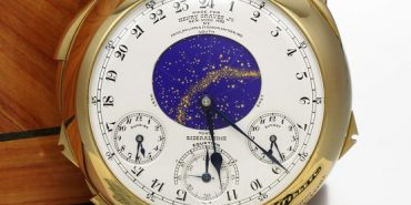 The Henry Graves Jr. Supercomplication - photograph courtesy of Sotheby's.