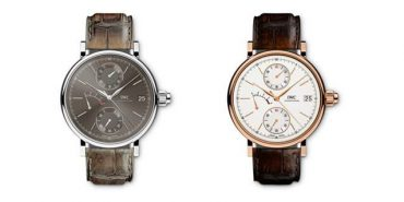 IWC SCHAFFHAUSEN PORTOFINO COLLECTION - NOW FEATURES A SOPHISTICATED CHRONOGRAPH