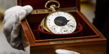 The Henry Graves Supercomplication timepiece by Patek Philippe.