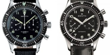 Zenith A.Cairelli and Heritage Cronometro Tipo