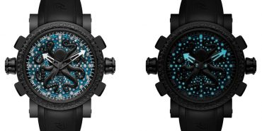 RJ-Romain Jerome Deep Blue Octopus