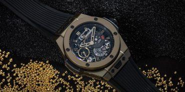 Hublot Big Bang Meca-10 Magic Gold