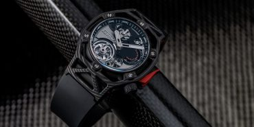 Hublot Techframe Ferrari Tourbillon Chronograph PEEK Carbon