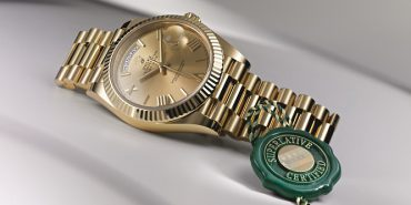 Rolex first superlative chronometer tested Day-Date 40