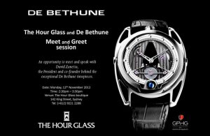 Meet and greet with the founder of de bethune in australia m4hsunfo