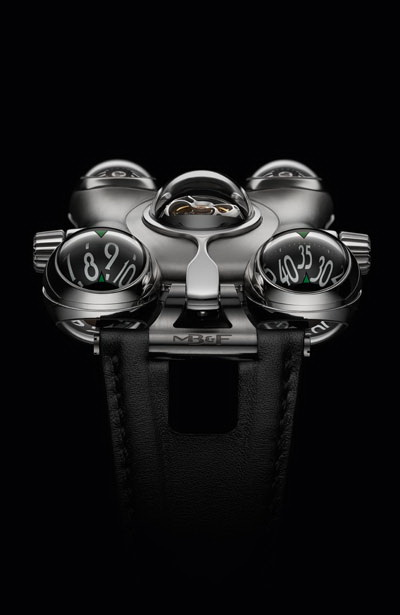 The craziest and most complex MB&F horological machine to date is a visual and ergonomic delight.