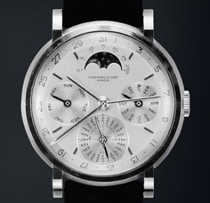 The original Audemars Piguet Reference 5516 Circa 1955, one of three built.